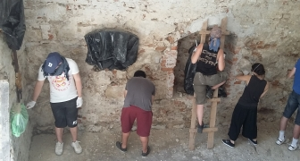 UF 01 Підкамінь 2017  European Heritage Volunteers Partner Project